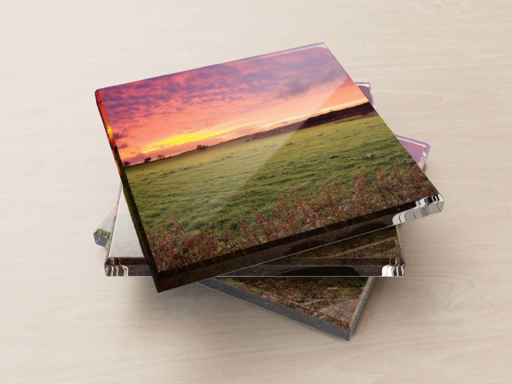 Sunset, Forest of Bowland - Glass Coasters